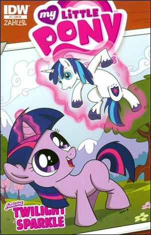 My Little Pony Micro-Series  1-C by IDW