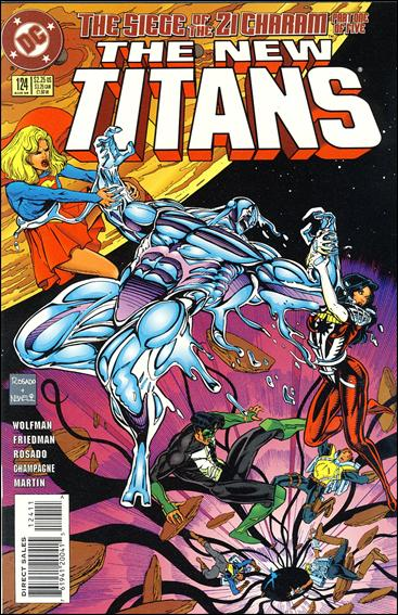New Titans 124-A by DC