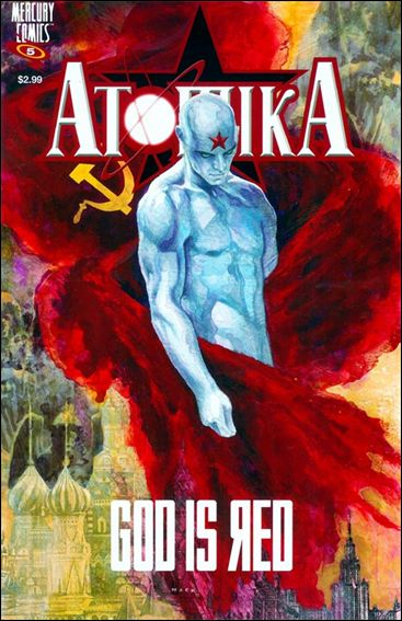 Atomika 5-A by Mercury Comics