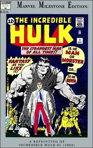 Marvel Milestone Edition: Incredible Hulk 1-A by Marvel