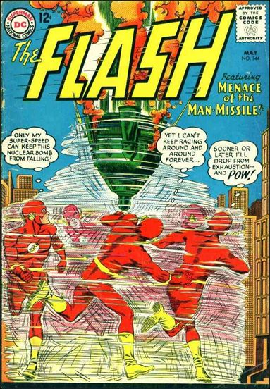 Flash (1959) 144-A by DC