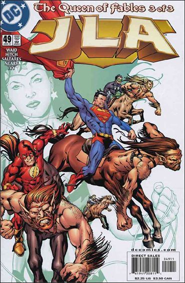 JLA 49-A by DC