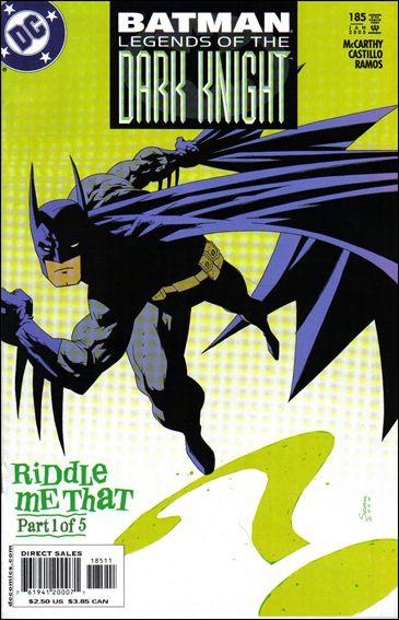 Batman: Legends of the Dark Knight 185-A by DC