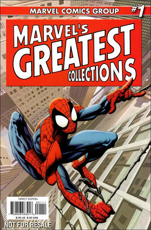 Marvel's Greatest Collections 2008 1-A by Marvel