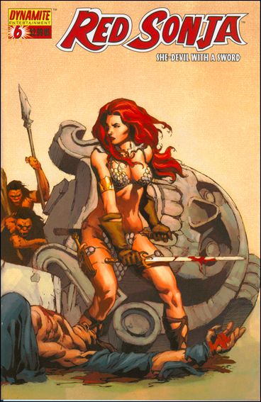 Red Sonja (2005) 6-B by Dynamite Entertainment