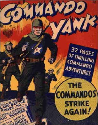Mighty Midget Comics - Commando Yank 12-A by Samuel E Lowe & Co