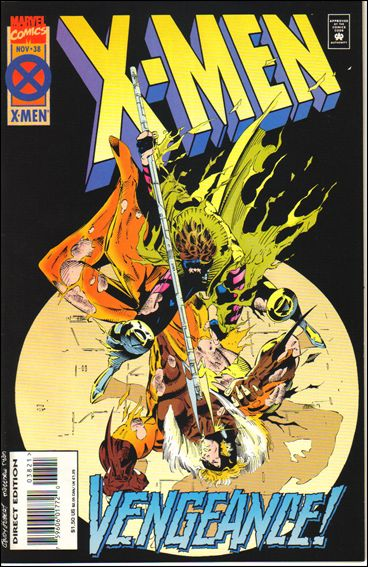 X-Men (1991) 38-B by Marvel