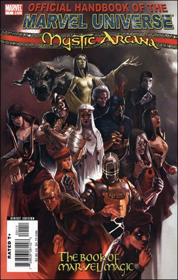 Mystic Arcana: The Book of Marvel Magic 1-A by Marvel