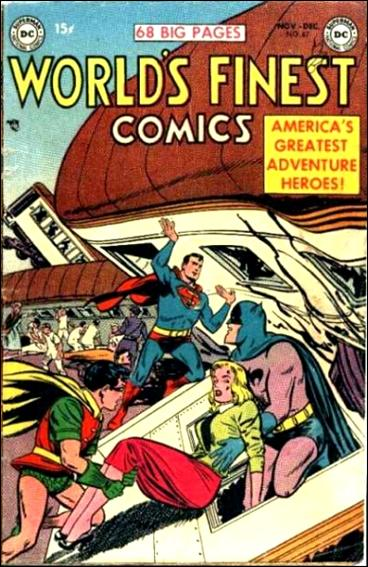 World's Finest Comics 67-A by DC