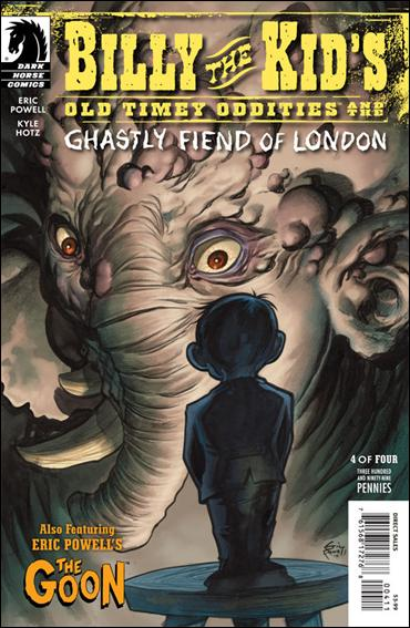Billy the Kid's Old Timey Oddities and the Ghastly Fiend of London 4-A by Dark Horse