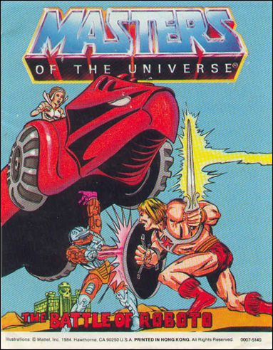 Masters of the Universe (1983) 4.3-A by Mattel