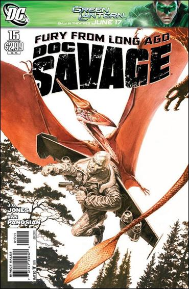 Doc Savage (2010) 15-A by DC