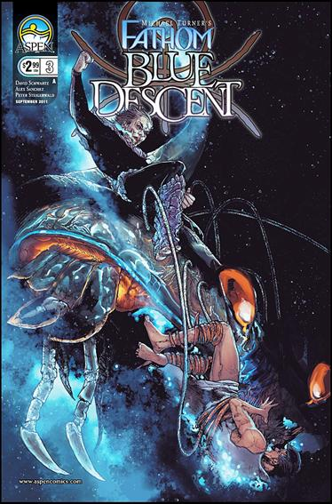 Michael Turner's Fathom: Blue Descent 3-A by Aspen