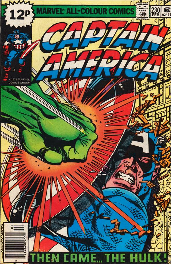 Captain America (1968) 230-B by Marvel