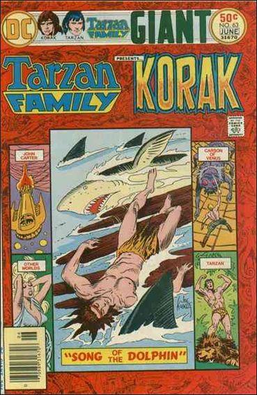 Tarzan Family 63-A by DC