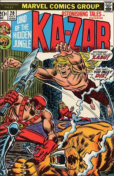 Astonishing Tales (1970) 20-A by Marvel