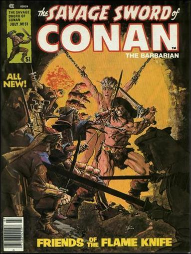 Savage Sword of Conan (1974) 31-A by Marvel
