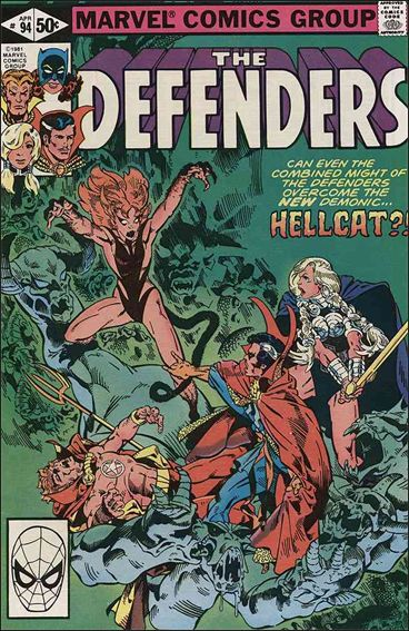 Defenders (1972) 94-A by Marvel