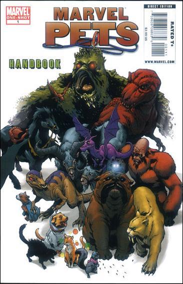 Marvel Pets Handbook 1-A by Marvel