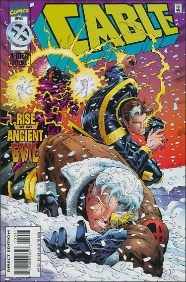 Cable (1993) 30-A by Marvel