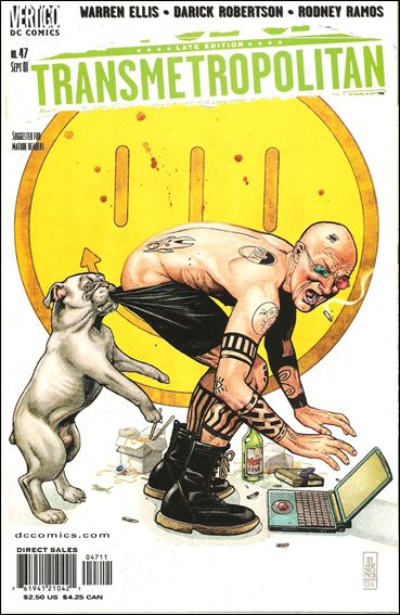 Transmetropolitan 47-A by Vertigo