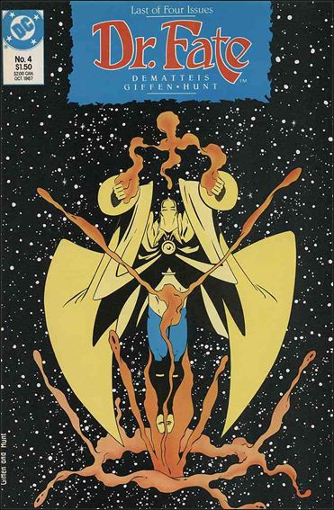 Doctor Fate (1987) 4-A by DC