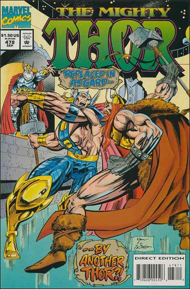 Thor (1966) 478-A by Marvel