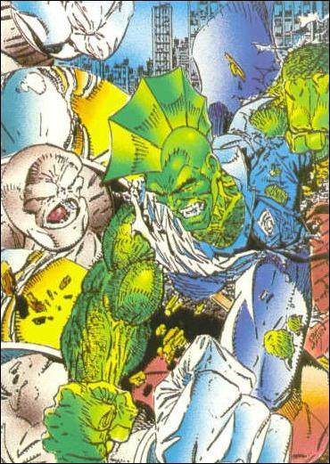 Savage Dragon (Base Set) 19-A by Comic Images