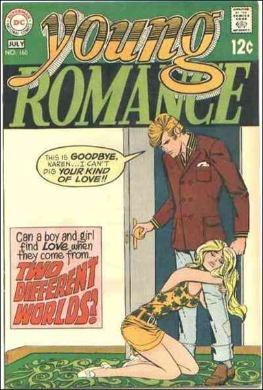 Young Romance (1963) 160-A by DC