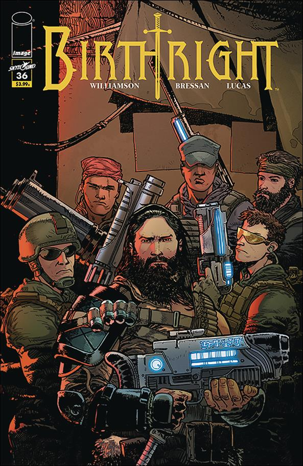 Birthright (2014) 36-A by Skybound Entertainment
