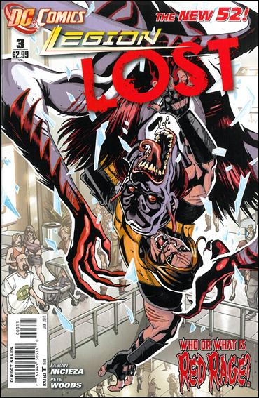 Legion Lost (2011) 3-A by DC