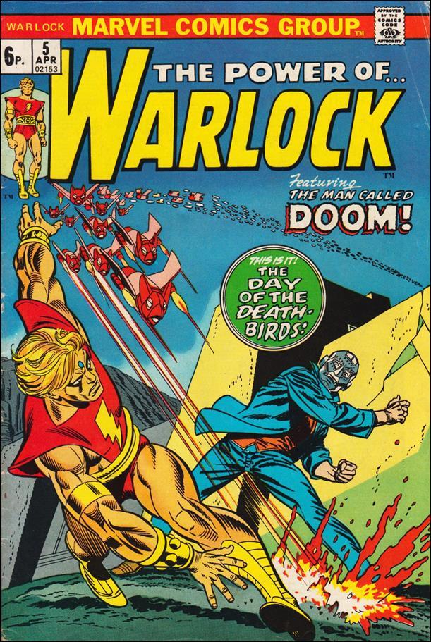 Warlock (1972) 5-B by Marvel