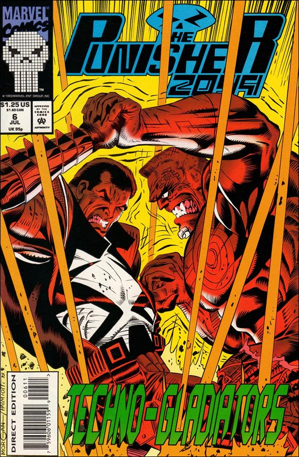 Punisher 2099 (1993) 6-A by Marvel