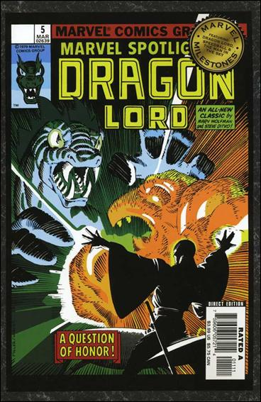 Marvel Milestones: Dragon Lord, Speedball &amp; The Man in the Sky nn-A by Marvel