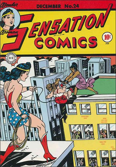Sensation Comics (1942) 24-A by DC