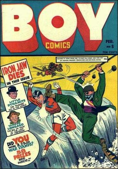 Boy Comics 8-A by Lev Gleason Productions