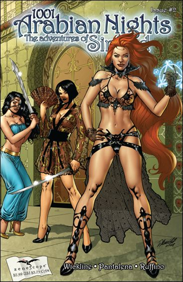 1001 Arabian Nights: The Adventures of Sinbad 2-A by Zenescope Entertainment