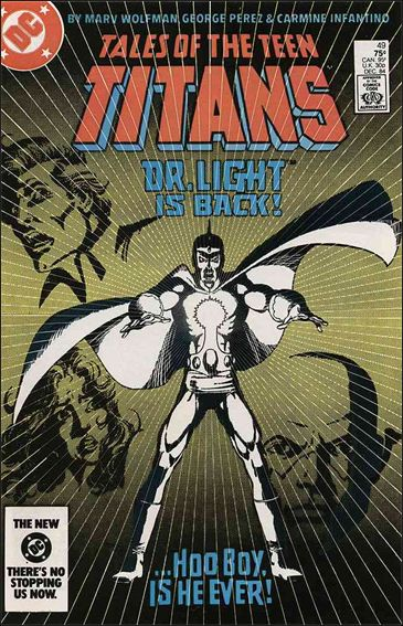 Tales of the Teen Titans 49-A by DC