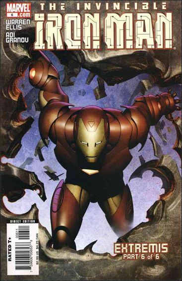 Invincible Iron Man (2005) 6-A by Marvel