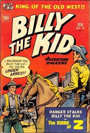 Billy the Kid Adventure Magazine 12-A