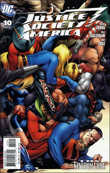 Justice Society of America (2007) 10-B by DC
