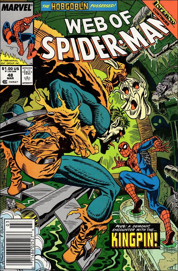 Web of Spider-Man (1985) 48-A by Marvel
