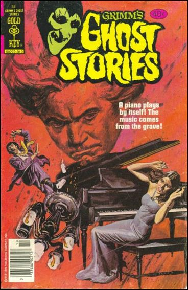 Grimm's Ghost Stories 53-A by Gold Key