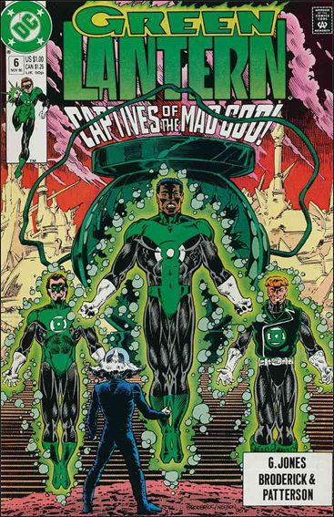 Green Lantern (1990) 6-A by DC