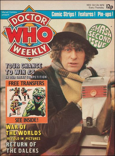 Doctor Who Weekly 2-A by Marvel UK