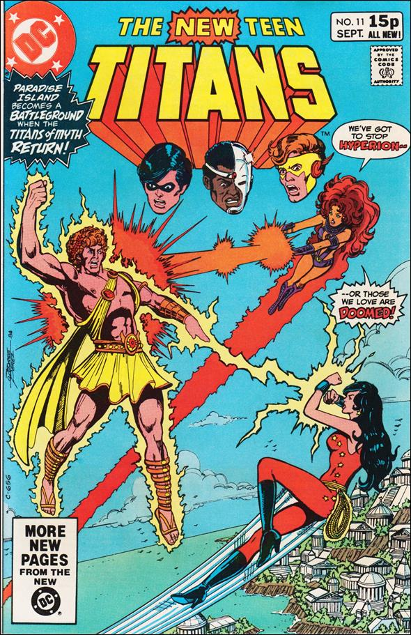 New Teen Titans (1980) 11-B by DC