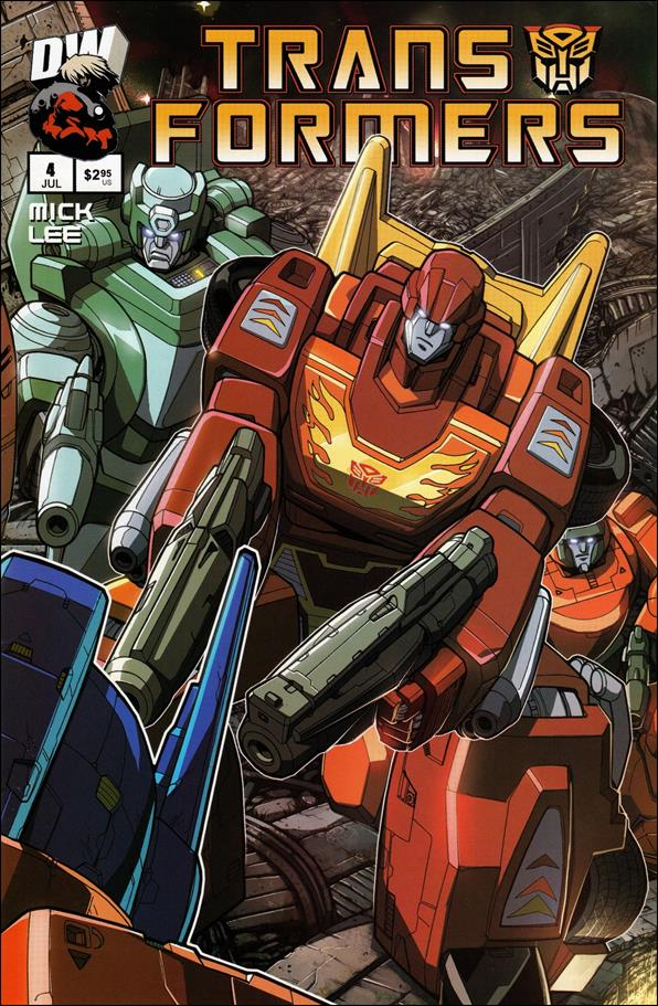 Transformers: Generation 1 (2003) 4-B by Dreamwave