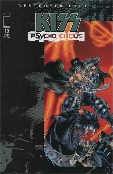 Kiss: Psycho Circus 10-A by Image