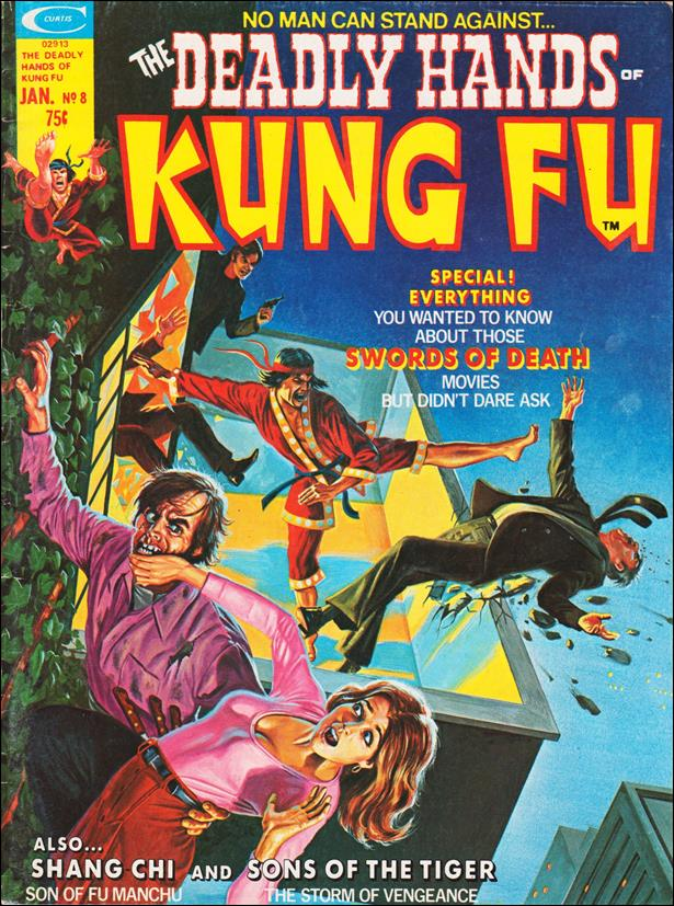 Deadly Hands of Kung Fu 8-A by Marvel