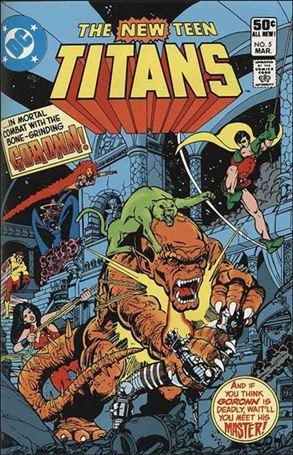 New Teen Titans (1980) 5-A
